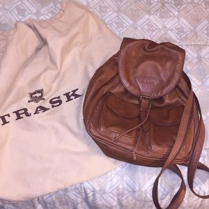 Trask Leather Backpack - O/S